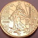 Gem Brillaint Unc France 2005 10 Euro Cents~Excellent Design~Free Shipping