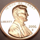 United States Proof 2006-S Lincoln Memorial Cent~Free Shipping~We Have Proofs~
