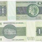 BRAZIL 1 CRUZEIRO LIBERTY HEAD NOTE UNC~FREE SHIPPING~