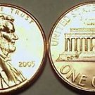 2005-P BRILLIANT UNCIRCULATED LINCOLN CENT VERY NICE !