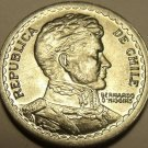 Gem Unc Chile 1956 1 Peso~General O'higgens~Excellent~Free Shipping