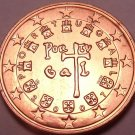 Gem Brillaint Unc Portugal 2007 2 Euro Cents~Fantastic Coin~Free Shipping