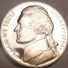 DEEP MIRROR PROOF 1994-S JEFFERSON NICKEL~FREE SHIPPING