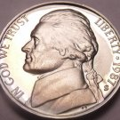 DEEP MIRROR 1987-S PROOF JEFFERSON NICKEL~FREE SHIPPING