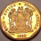 Rare Proof South Africa 1993 10 Cents~Arum Lily~Only 7,790 Minted~Free Shipping