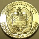 Rare Proof Panama 1966 1/10th Balboa~Only 13,000 Minted~Awesome~Free Shipping