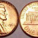 1960-P BRILLIANT UNCIRCULATED LARGE DATE LINCOLN CENT