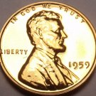 United States Proof 1959 Cent~1st Memorial Proof Coin~Free Shipping