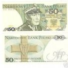 POLAND 50 ZLOTYCH UNCIRCULATED MILITARY GENERAL