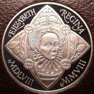 Rare Cameo Great Britain 2008 5 Pounds~450th Anniv Queen Elizabeth I~Free Ship