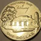 Massive Gem Unc New Zealand 1977 Dollar~Waitangi Day~Silver Jubilee~Free Ship