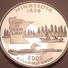 Awesome Cameo Proof 2005-S Minnesota State Quarter~Free Shipping Included~