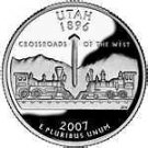 2007-D UTAH GEM UNC STATE QUARTER~FREE SHIPPING~WE HAVE STATE QUARTERS~