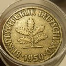 Roll (40 Coins) Old Germany 1950 10 Pfennigs~Special Price~Unsearched~Free Ship~