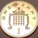 Gem Cameo Proof Great Britain 1986 Penny~Excellent~Free Shipping