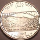 Gem Cameo Proof 2005-S West Virginia State Quarter~See R Proof Quarters~Free Shi