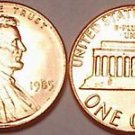 1985-P UNCIRCULATED ABRAHAM LINCOLN CENT~FREE SHIPPING~