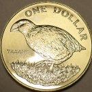 Massive Choice Gem Unc New Zealand 1982 Dollar~Takahe Bird~Only Year~Free Ship