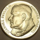 HUGE GEM UNC VATICAN PAOLO II SILVER MEDAL~WE HAVE VATICAN SILVER~FREE SHIPPING~