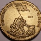 Massive 1978 Honoring The American Veteran Medallion~Preserving Freedom~Free Shi