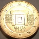 BRILLIANT UNC MALTA 2008 2-EURO CENTS~FREE SHIPPING~WOW