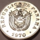 PROOF PANAMA 1970 5 CENTESIMOS~SEE ALL OUR COINS~FREE SHIPPING~