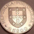 Large Unc Portugal 1986 25 Escudos~Admission Into The European Common Market~F/S