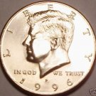 GEM BU 1996-P KENNEDY HALF DOLLAR~WE HAVE KENNEDYS~FR/S