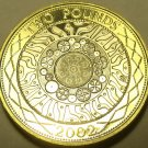 Gem Cameo Bi-Metal Proof Great Britain 2002 2 Pounds~Technology~Free Shipping