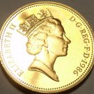 Gem Cameo Proof Great Britain 1986 2 Pence~Welsh Plume~Mintage 125,000~Free Ship