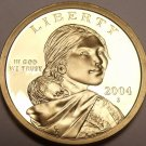 United States 2004-S Sacagawea Cameo Proof Dollar~Free Shipping