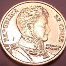 Gem Unc Chile 2013 10 Pesos~Bernardo O'Higgins~Free Shipping*