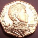 Gem Unc Chile 2010 5 Pesos~Bernardo O'Higgins~Free Shipping*