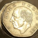 """Roll (20 Coins) Of Huge Cirulated Mexico 10 Pesos Coins~1970's-1980""""s~Free Ship~"""