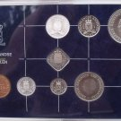 Gem Unc Netherlands Antillies 1985 8 Piece Mint Set~24,000 Minted~Free Shipping