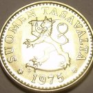Awesome Gem Uncirculated Finland 1975-S 10 Pennia~Rampant Lion~Free Shipping