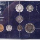 Gem Unc Netherlands Antillies Mint Issued 1983 7 Piece Unc Set~25,000 Minted~F/S