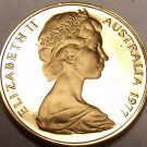 CAMEO PROOF AUSTRALIA 1977 CENT~RINGED TAILED OPOSSUM~FREE SHIPPING~