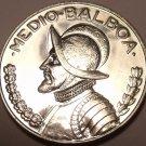 Rare Silver Proof Panama 1967 Half Balboa~19,983 Minted~Armored Bust~Free Ship