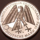 Large Germany Silver Proof 1996-A 10 Marks~150th Anniv Of Kolpingwerk~Free Ship