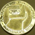 MASSIVE SILVER PROOF AUSTRIA 1974 100 SCHILLING~OLYMPICS IN INNSBRUCK~FREE SHIP~
