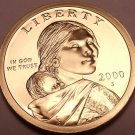 United States 2000-S Sacagawea Cameo Proof Dollar~Free Shipping