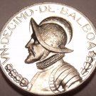 Rare Proof Panama 1967 One Tenth Balboa~Only 19,983 Minted~See R Coins~Free Ship