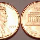1994-P GEM BU LINCOLN PENNY~WE HAVE ALOT OF CENTS~FR/SH