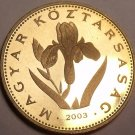 Rare Proof Hungary 2003-BP 20 Forint~Only 7,000 Minted~Hungarian Iris~Free Ship