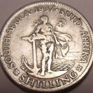 Silver South Africa 1937 Shilling~1st Year Ever Minted~Free Shipping*