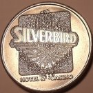 MASSIVE SILVER BIRD CASINO FREE PLAY TOKEN~GREAT PRICE~
