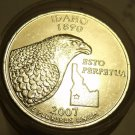 GEM UNCIRCULATED ROLL IDAHO 2007-P STATE QUARTERS~FREE SHIPPING~