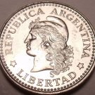 Gem Unc Argentina 1959 5 Centavos~Last Year Ever Minted~Over 50 Years Old~Fr/Shi