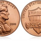 GEM BU 2010P LINCOLN SHIELD CENT~FREE SHIPPING~1ST YEAR
